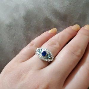 Evel eye ring 7